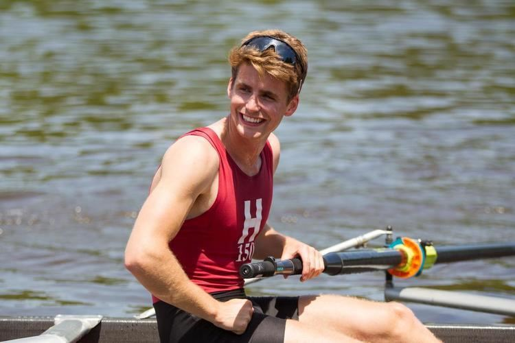 Andrew Campbell (rower) Harvard grad Andrew Campbell wins world rowing title at U23