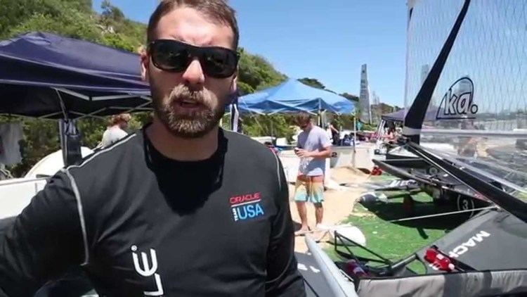 Andrew Campbell (sailor) Andrew Campbell from ORACLE TEAM USA talks Moths YouTube