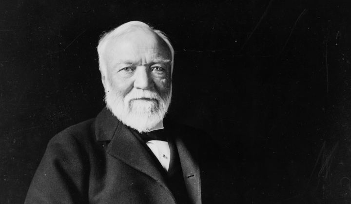 Andrew Carn Andrew Carnegie The Philanthropy Hall of Fame The