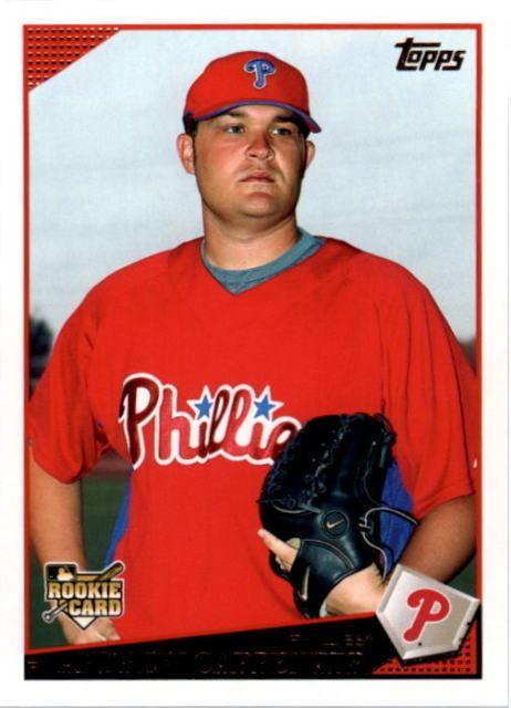 Andrew Carpenter (baseball) 2009 Topps Andrew Carpenter Philadelphia Phillies 12 Baseball Card