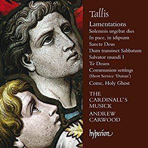 Andrew Carwood Cardinalls Musick Andrew Carwood Tallis Tallis Lamentations