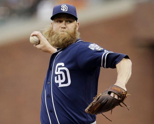 Andrew Cashner Andrew Cashners beard consumed by Marlins facial hair policy