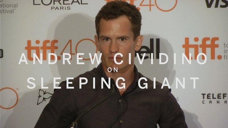 Andrew Cividino Andrew Cividino on SLEEPING GIANT TIFF 2015 YouTube