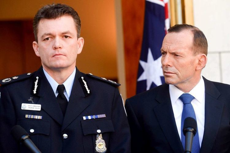 Andrew Colvin New AFP Commissioner Andrew Colvin says all police bear
