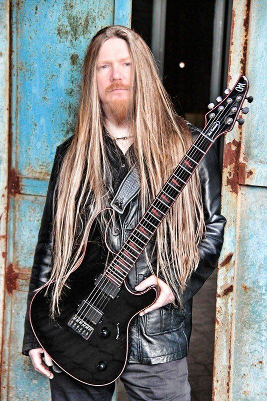 Andrew Craighan My dying bride Mayones