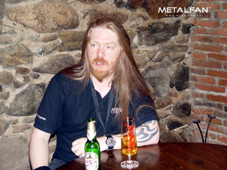 Andrew Craighan My Dying Bride interview Andrew Craighan and Hamish Glencross