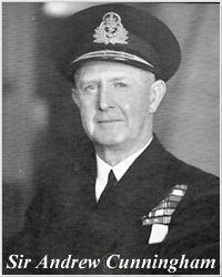 Andrew Cunningham, 1st Viscount Cunningham of Hyndhope wwwhmshoodcomphotoscrewAdmCunninghamjpg