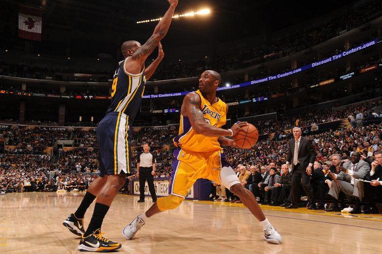 Andrew D. Bernstein Lakers Blowout Jazz CBS Los Angeles