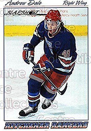 Andrew Dale (ice hockey) Andrew Dale Hockey Card 199596 Slapshot 142 Andrew Dale Amazonca