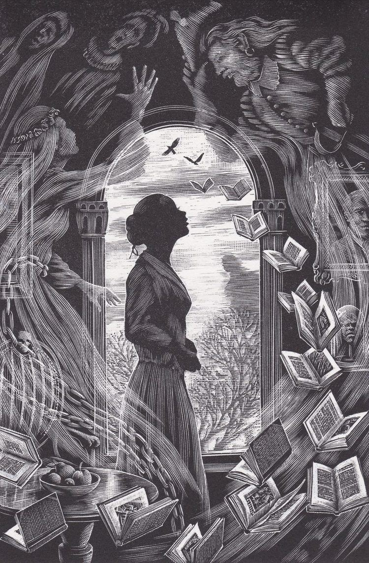 Andrew Davidson (illustrator) Andrew Davidsons stunning engravings for Ransom Riggs Tales of the