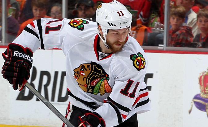 Andrew Desjardins Andrew Desjardins Chicago Blackhawks staying loose