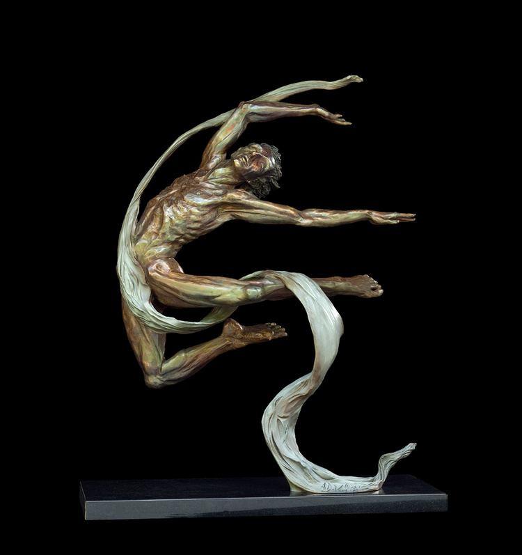 Andrew DeVries Andrew DeVries Figurative Bronze Sculpture Pastels