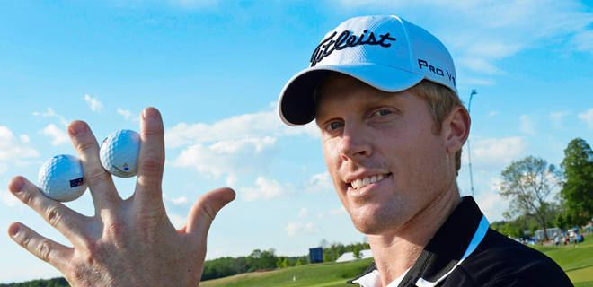 Andrew Dodt Australian Andrew Dodt makes two aces at Nordea Masters