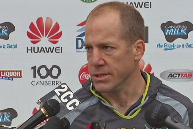 Andrew Dunemann Acting Canberra Raiders coach Andrew Dunemann ABC News Australian