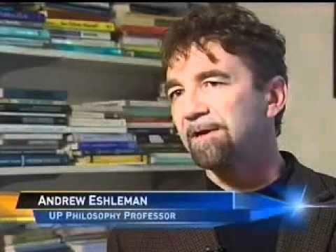 Andrew Eshleman University of Portland professor Andrew Eshleman featured on KGW