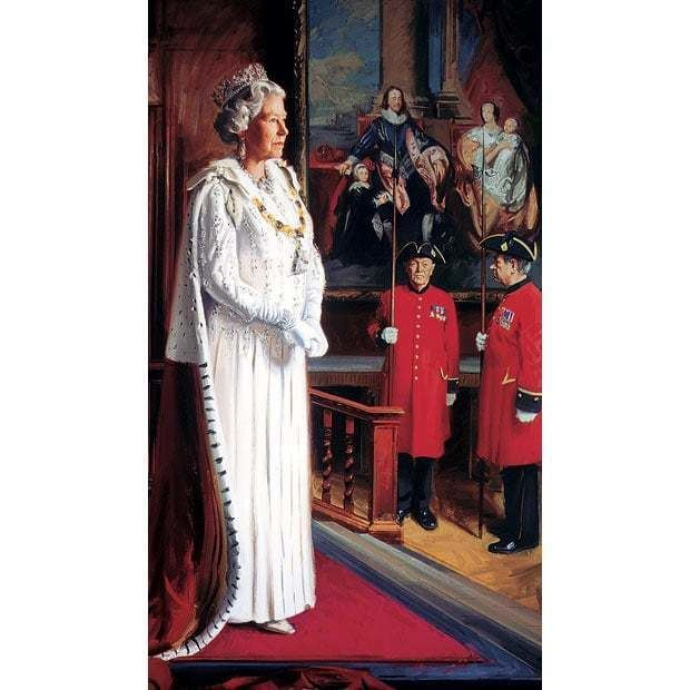 Andrew Festing Queen39s Diamond Jubilee Portraits of Queen Elizabeth II