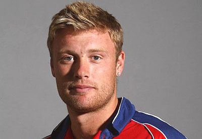Andrew Flintoff (Cricketer) playing cricket
