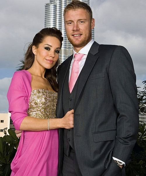 Andrew Flintoff (Cricketer) family