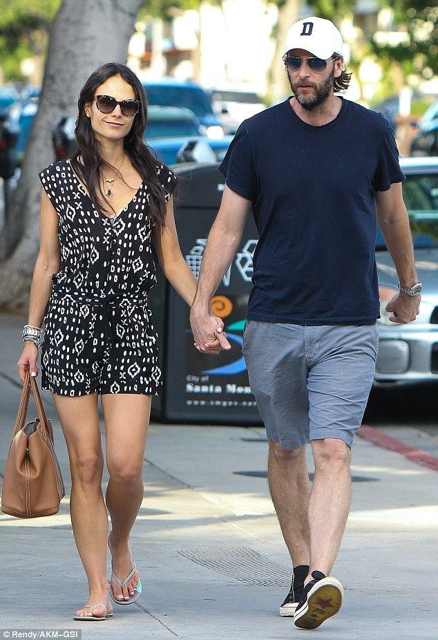Andrew Form Jordana Brewster goes on romantic stroll with husband