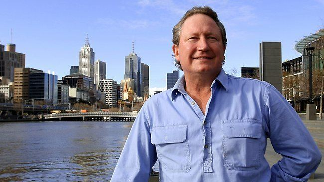 Andrew Forrest Forrest to give half his riches to charity The Australian