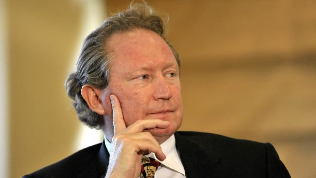 Andrew Forrest Gillard Swan will ruin economy for two decades39 Andrew
