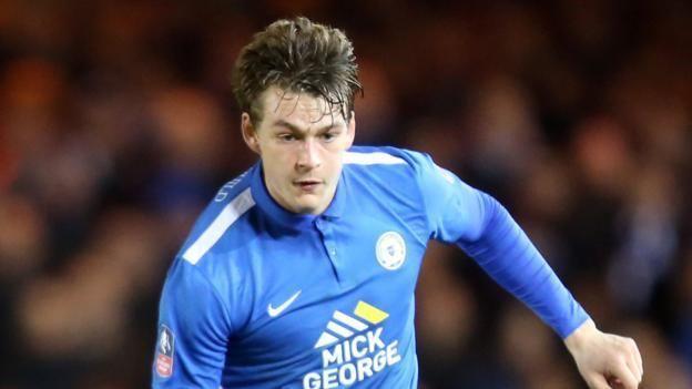 Andrew Fox (footballer) Andrew Fox Stevenage sign Peterborough United leftback BBC Sport