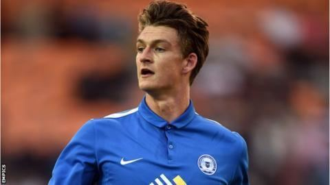 Andrew Fox (footballer) Andrew Fox Peterborough United are a step up BBC Sport