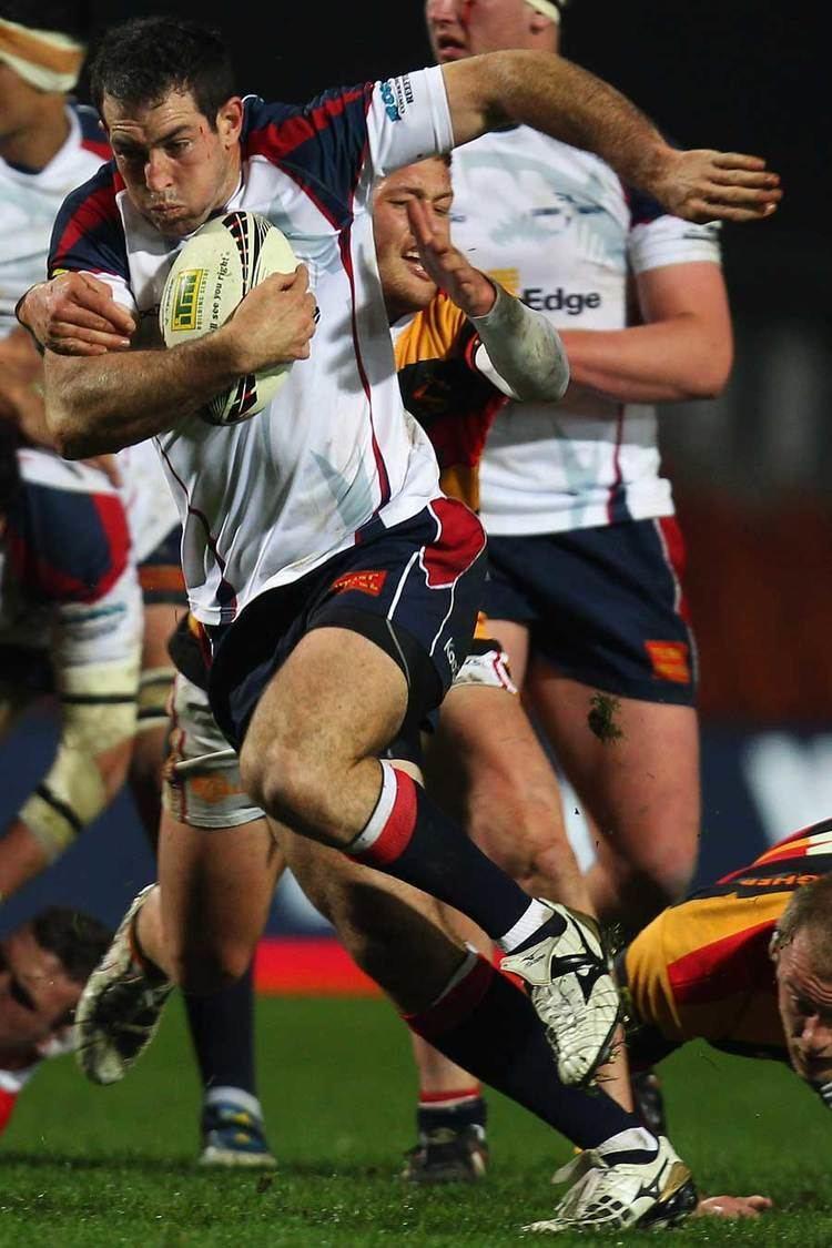 Andrew Goodman (rugby union) Tasmans Andrew Goodman makes a break Rugby Union Photo ESPN Scrum