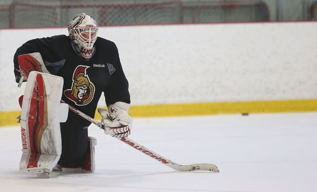 Andrew Hammond (ice hockey) Sens goalie Andrew Hammond knows his crazy run wont last