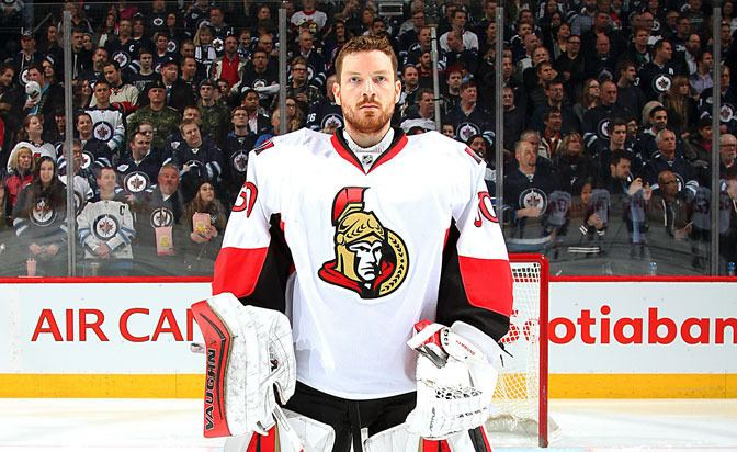 Andrew Hammond (ice hockey) Andrew Hammond of Ottawa Senators nearly quit hockey NHL