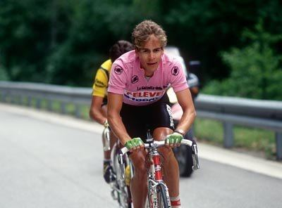 Andrew Hampsten Top ten cyclists of all time which you have actually seen