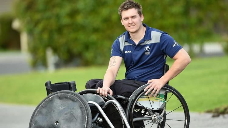 Andrew Harrison (wheelchair rugby) 2016 Paralympics Andrew Harrison to represent Australia Leader