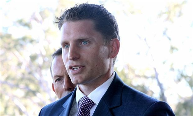 Andrew Hastie (politician) Canning byelection Liberal candidate Andrew Hastie takes
