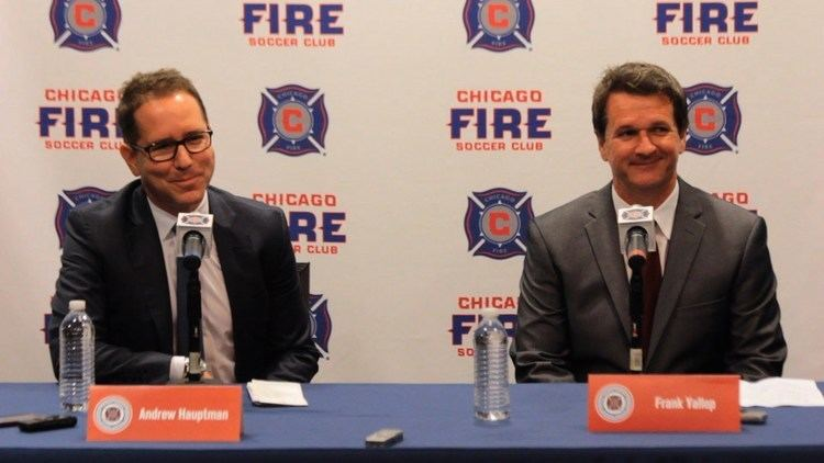 Andrew Hauptman Head over heart Chicago Fire owner Andrew Hauptman picks
