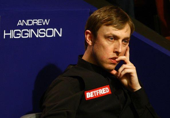 Andrew Higginson Andrew Higginson Pictures World Snooker Championships