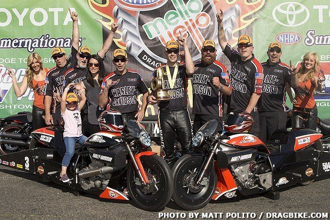 Andrew Hines NHRA Interview with 2015 Champion Andrew Hines Dragbikecom
