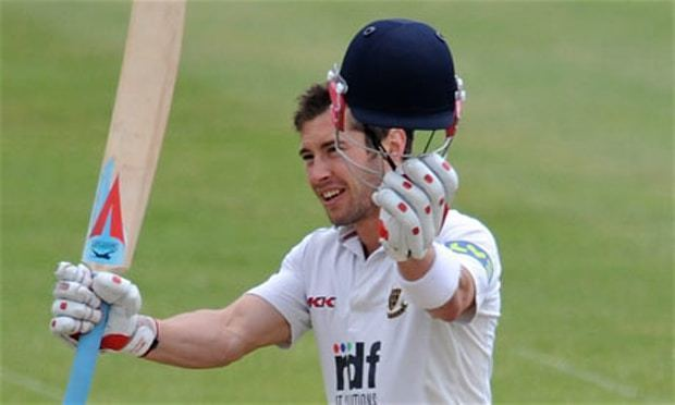 Andrew Hodd Andrew Hodd carries Sussex forward with century against