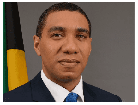 Andrew Holness Jamaicas New Prime Andrew Holness Sends Positive Signal At Swearing