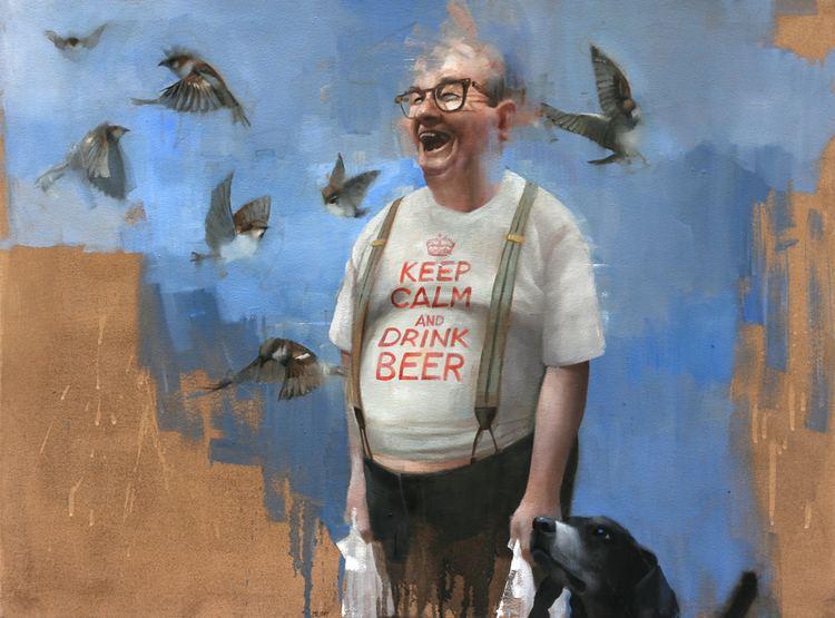 Andrew Hunt (painter) The Art Work of Andrew Hunt Arrives in Manchester Artzu Gallery