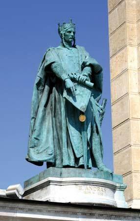 Andrew II of Hungary Andrew II king of Hungary Britannicacom