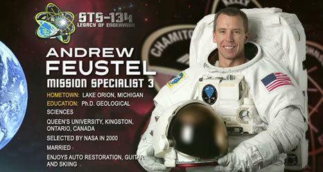 Andrew J. Feustel NASA STS134