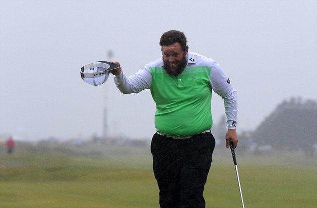 Andrew Johnston (English politician) Andrew Johnston in Royal company as English golfer marches up Open