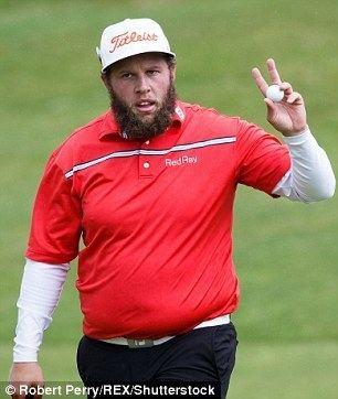 Andrew Johnston (golfer) Open hero Andrew Johnson loves steak so much his golf clubs brand