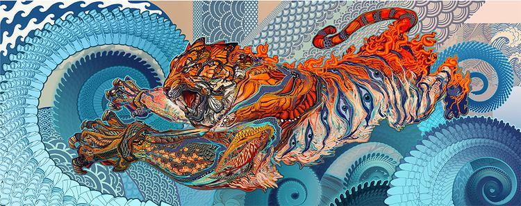 Andrew Jones (artist) Android Jones