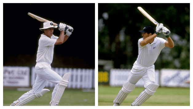 Andrew Jones (New Zealand cricketer) Martin Crowe and Andrew Jones stitch monumental record