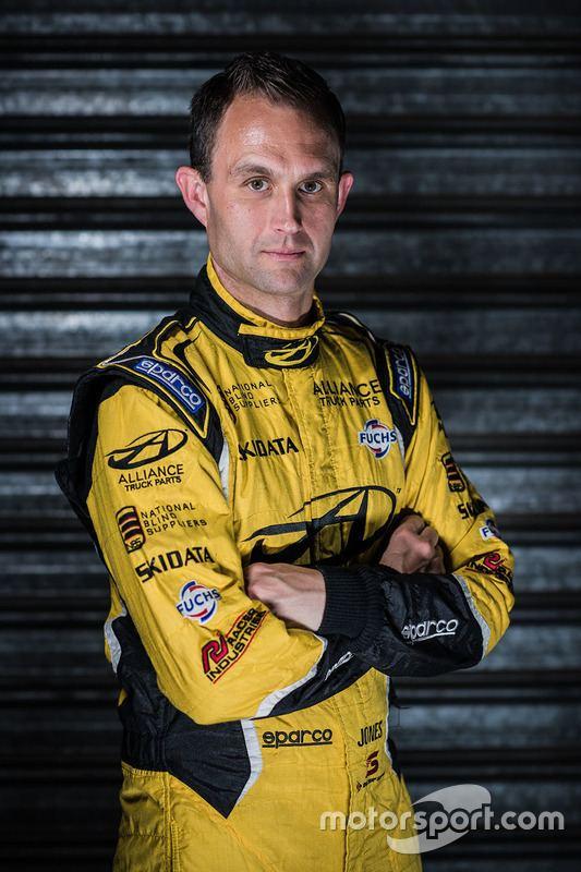 Andrew Jones (racing driver) Andrew Jones at Brad Jones Racing codriver announcement