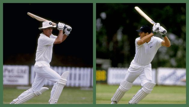 Andrew Jones (Staffordshire cricketer) Martin Crowe and Andrew Jones stitch monumental record breaking