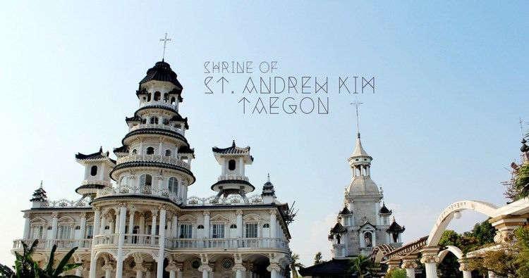 Andrew Kim Taegon A Tour to the Heavenly Shrine of St Andrew Kim Taegon Tales of