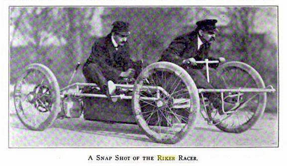 Andrew L. Riker Andrew L Riker pioneer race car designer Vintage Motoring Blog