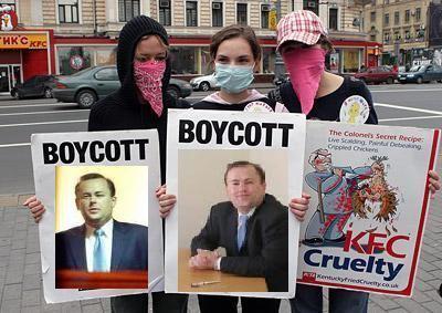 Andrew Landeryou slanderyou Protesting against Andrew Landeryou EXCLUSIVE